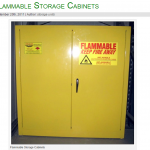 flammable and chemical storage cabinets